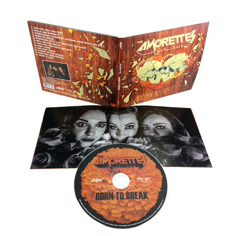 The Amorettes Born To Break Signed CD