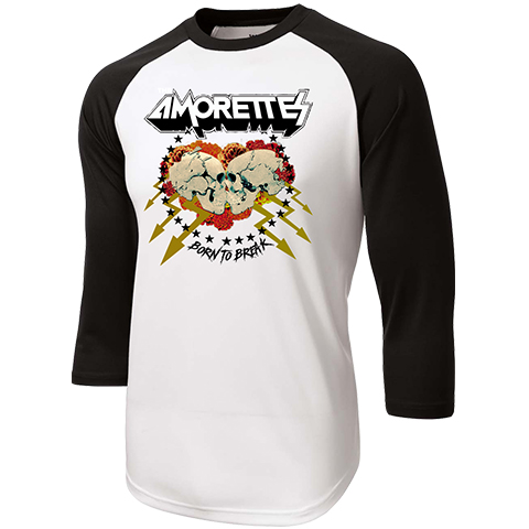 The Amorettes Born To Break Baseball Shirt