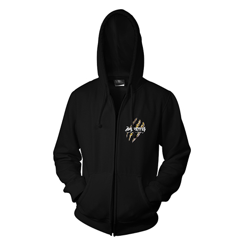 The Amorettes Haulin Ass Zip Hoodie