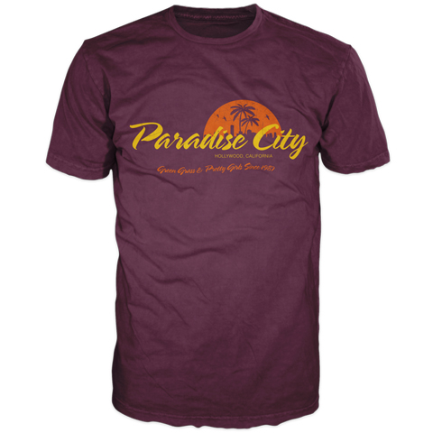 Classic Rock – Paradise City Short Sleeve T-Shirt
