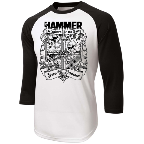 Metal Hammer – Coat Of Arms Baseball Shirt