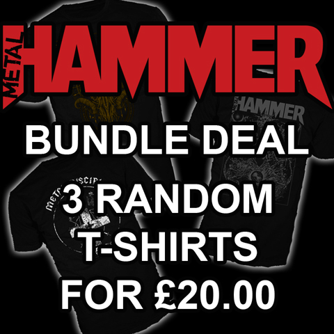 Metal Hammer – Random 3 T-Shirt Bundle Deal