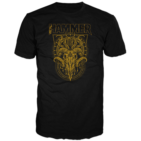 Metal Hammer – Goat Head Short Sleeve T-Shirt