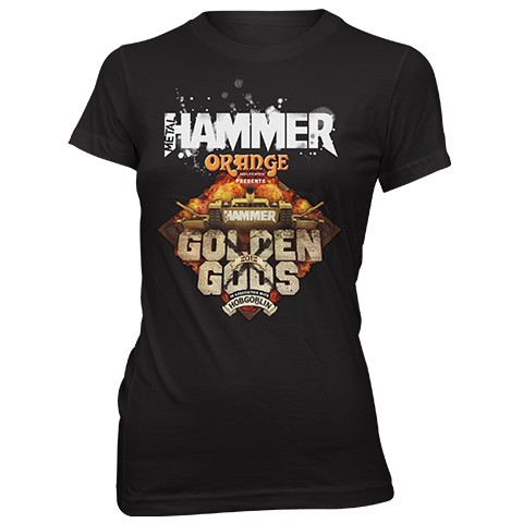 Golden Gods 2012 Skinny Fit T-Shirt