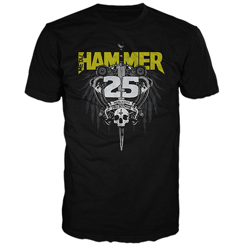 Metal Hammer – 25th Anniversary Short Sleeve T-Shirt