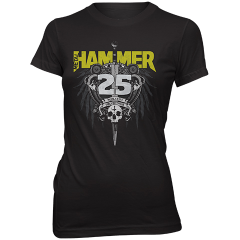 Metal Hammer – 25th Anniversary Skinny Fit T-Shirt