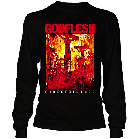 Godflesh Streetcleaner Long Sleeve Shirt