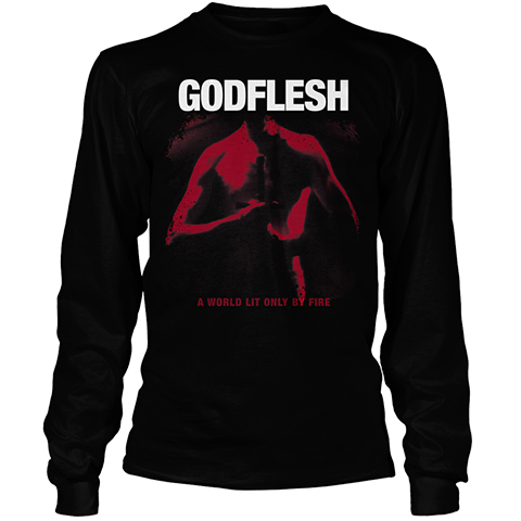 Godflesh A World Lit Only By Fire Long Sleeve Shirt