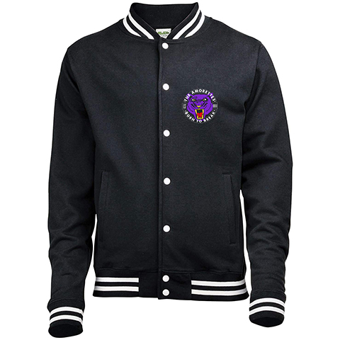 The Amorettes Wildcat Varsity Jacket