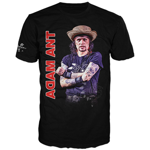 Adam Ant Roundhouse 2018 Short Sleeve T-Shirt