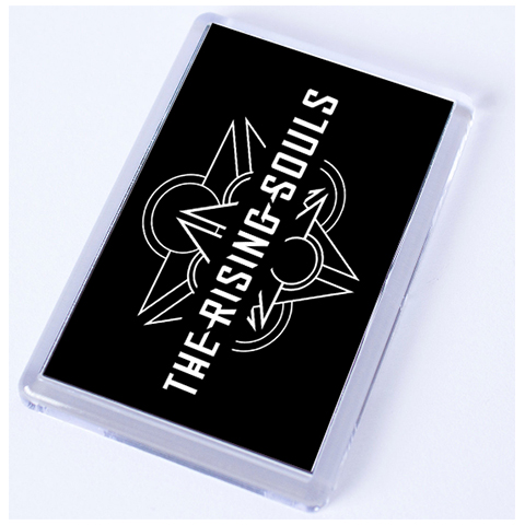 The Rising Souls Logo Fridge Magnet