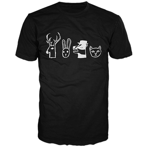 The Rising Souls Heads Short Sleeve T-Shirt
