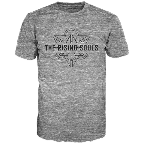 The Rising Souls Distressed Logo Short Sleeve T-Shirt