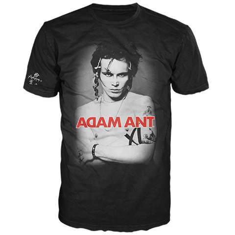 Adam Ant Classic Friend Or Foe Short Sleeve T-Shirt