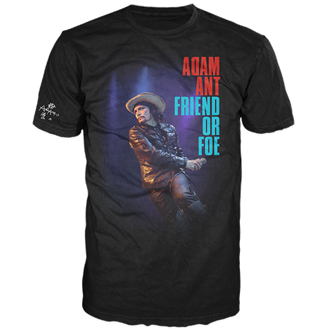 Adam Ant Friend Or Foe Live Short Sleeve T-Shirt