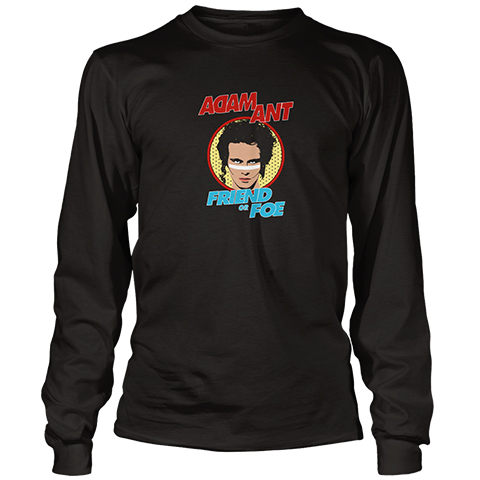 Adam Ant Retro Long Sleeve