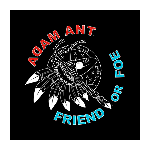 Adam Ant Friend Or Foe Bandana