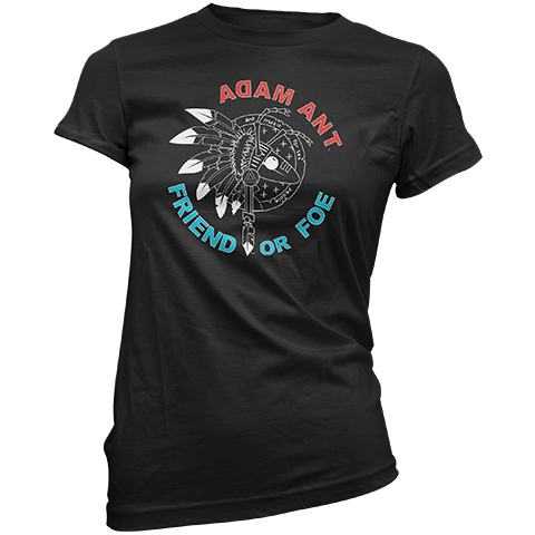 Adam Ant Friend Or Foe UK 2019 Short Sleeve T-Shirt