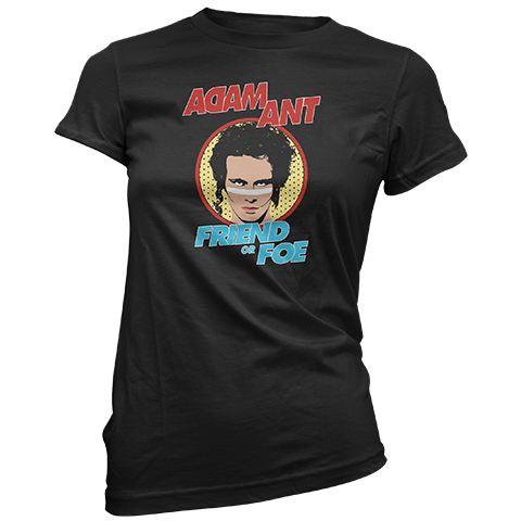 Adam Ant Retro UK 2019 Short Sleeve T-Shirt