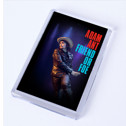 Adam Ant Friend Or Foe Fridge Magnet