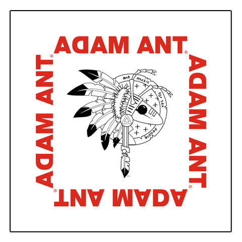 Adam Ant Warrior Logo Bandana