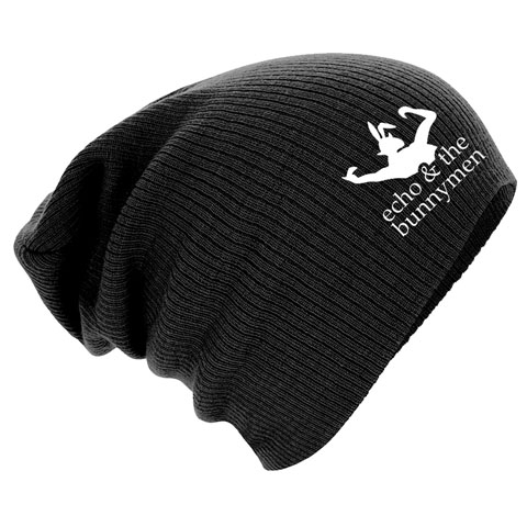 Echo And The Bunnymen Bunny Logo Slouch Beanie