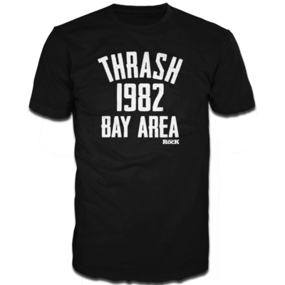 Louder Thrash 1982 Bay Area Short Sleeve T-Shirt