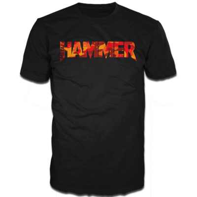 Metal Hammer Cammo Black Short Sleeve T-Shirt