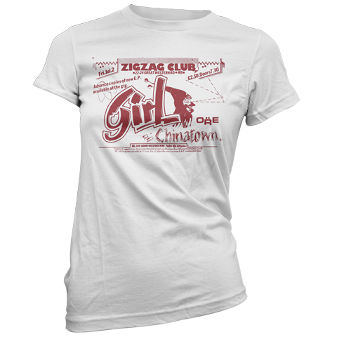 Girl Zigzag Club Short Sleeve T-Shirt