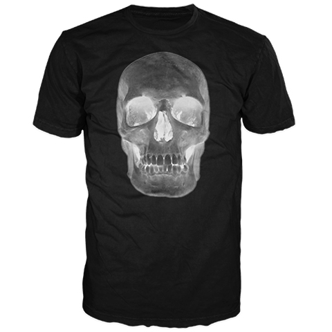 Skull Negative Short Sleeve T-Shirt