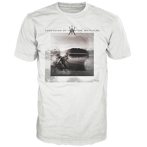 Ascension Of The Watchers Apocrypha White Short Sleeve T-Shirt