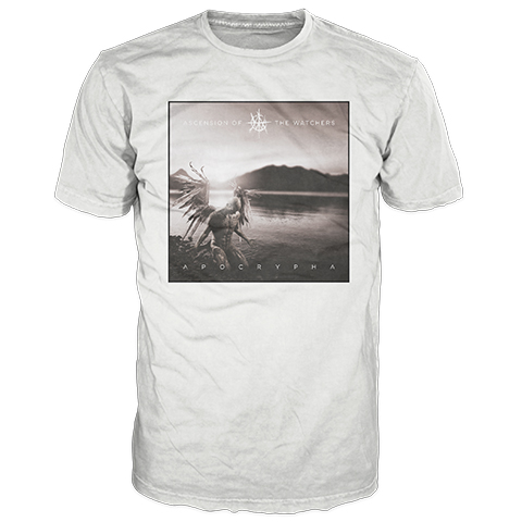 Ascension Of The Watchers Apocrypha Cover White Short Sleeve T-Shirt