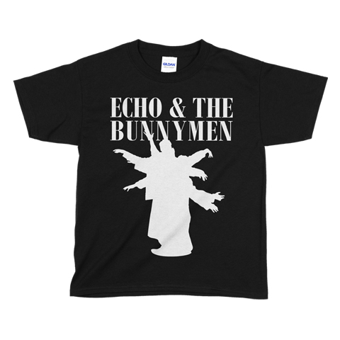 Echo And The Bunnymen Silhouette Kids T-Shirt