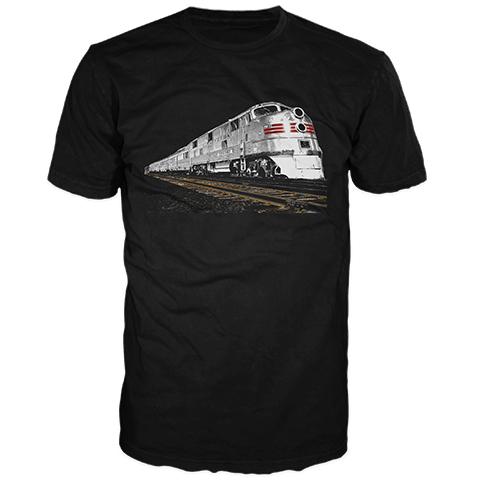 Silver Train Short Sleeve T-Shirt