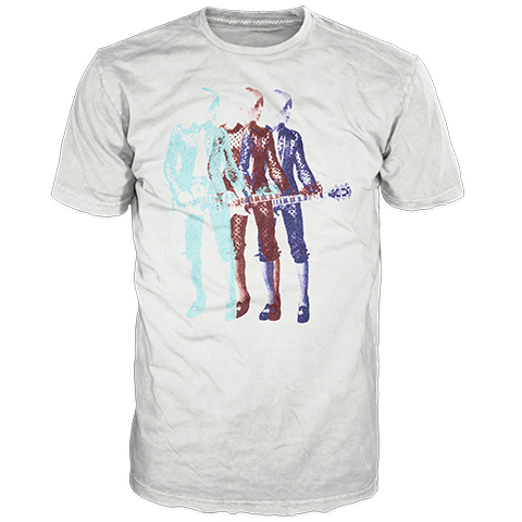 Trio White Short Sleeve T-Shirt