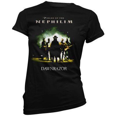 Fields Of The Nephilim Dawnrazor  Ladies T-Shirt