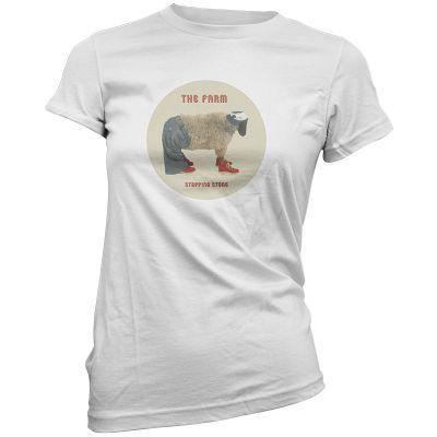 The Farm Stepping Stone  Ladies T-Shirt