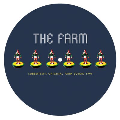 The Farm Subbuteo  Slipmat