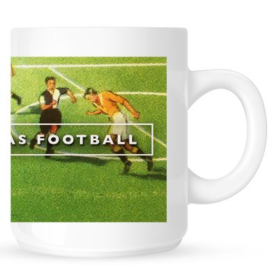 When Football Was Football Logo  Coffee Mug