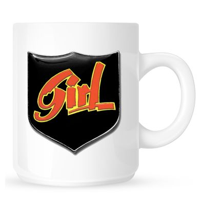 Girl Badge  Coffee Mug