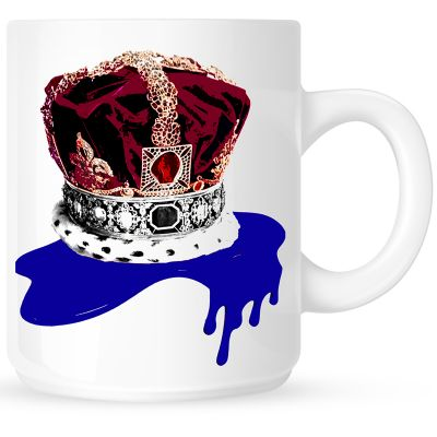 Blue Crown  Coffee Mug