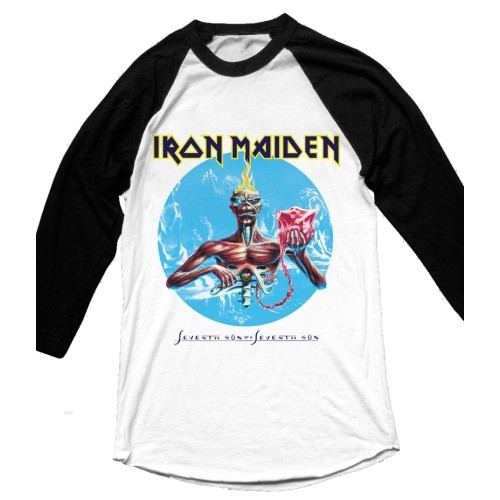 Iron Maiden Seventh Son Raglan T-Shirt