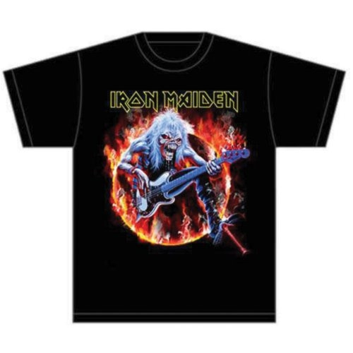 Iron Maiden Fear Live Flames T-Shirt