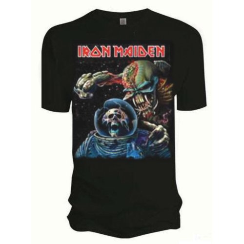 Iron Maiden Final Frontier Album T-Shirt