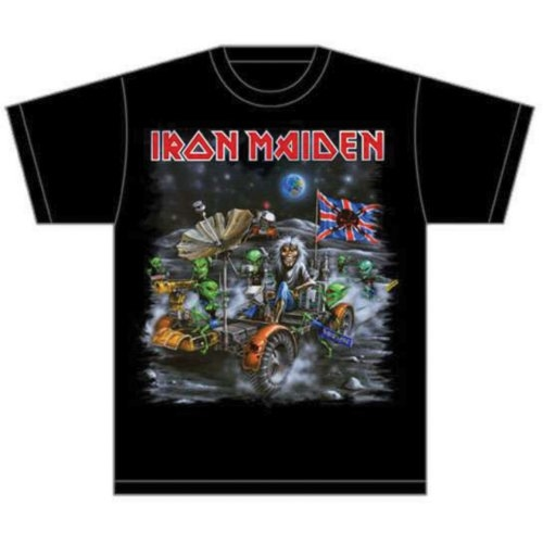 Iron Maiden Knebworth Moonbuggy T-Shirt