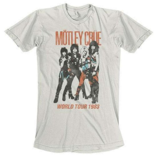 Motley Crue Vintage World Tour 2 T-Shirt