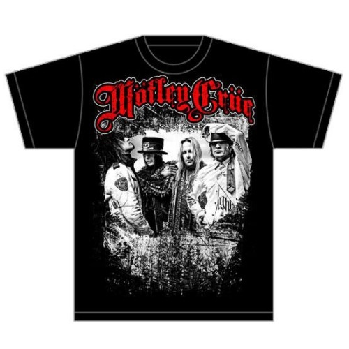 Motley Crue Greatest Hits Bandshot T-Shirt