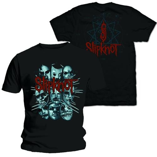Slipknot Masks 2 T-Shirt